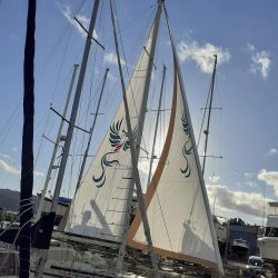 Amel 54 Main and Genoa in Radial Contender Dacron