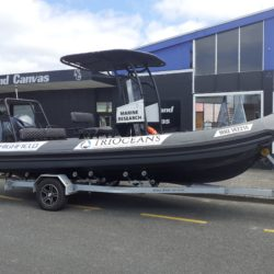 """New Dinghy Chaps for RV """"Kekeno"""" from the Tangaroa Research Institute of Oceanographic Studies (TriOceans)"""