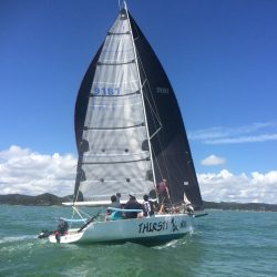 """Thirsty Work"" New Sails"