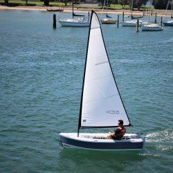 Offshore Cruising Tender Dinghy Sail